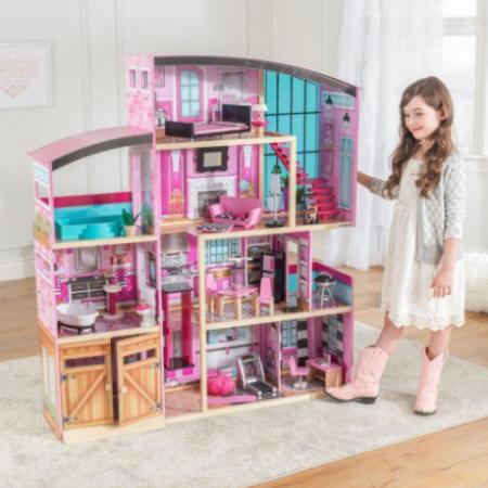 mansion de muñecas kidkraft
