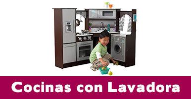 cocinas de juguete con lavadora