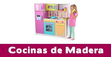 cocinas de madera juguete