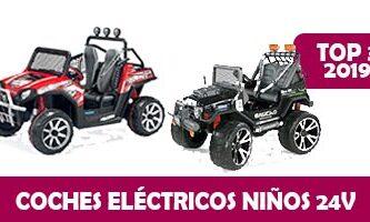 coches electricos ninos 24v